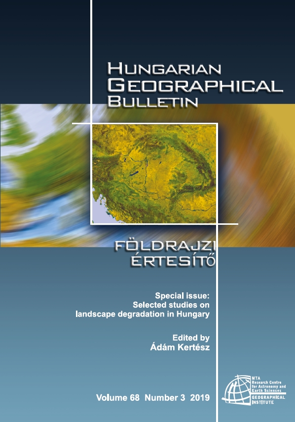 Hungarian Geographical Bulletin 2019/3