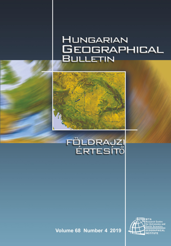 Hungarian Geographical Bulletin 2019/4