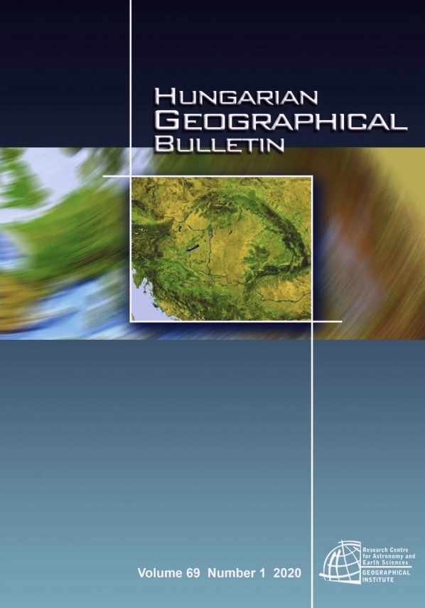 Hungarian Geographical Bulletin 2020/1