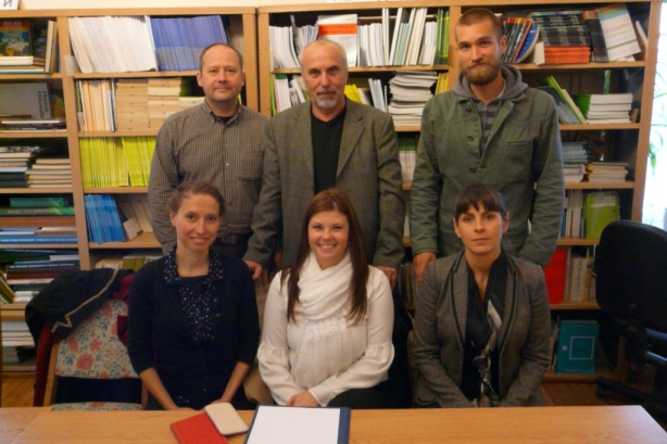 Researchers of Geographical Institute RCAES HAS visited colleagues in Kyiv